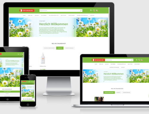Onlineshop der EM Schweiz AG