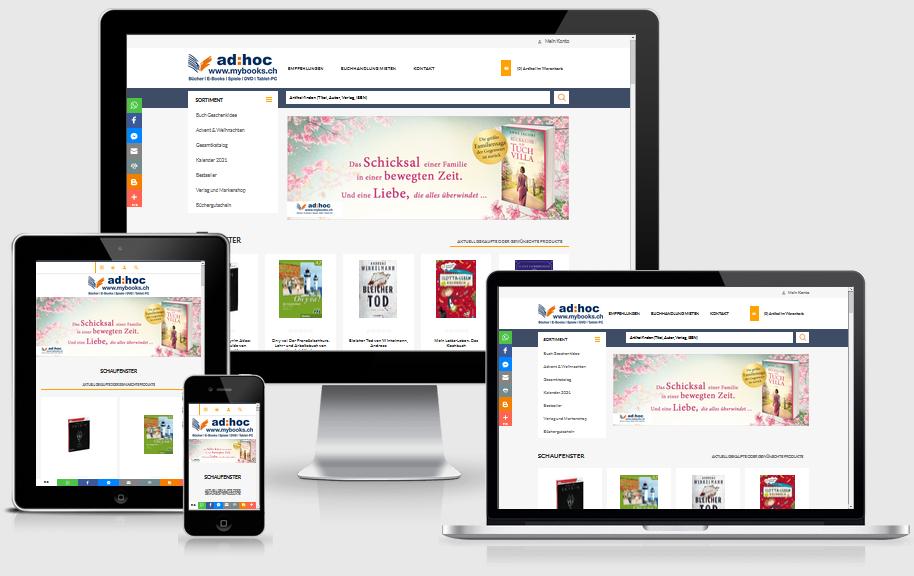 Onlineshop von mybooks.ch